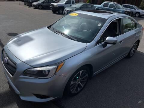2015 Subaru Legacy for sale at KINGSTON AUTO SALES in Wakefield RI