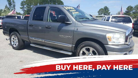 2007 Dodge Ram Pickup 1500 for sale at Rodgers Enterprises in North Charleston SC