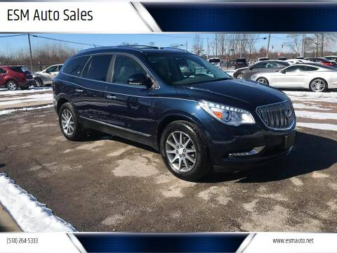 2015 Buick Enclave for sale at ESM Auto Sales in Elkhart IN