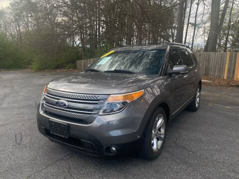 2013 Ford Explorer for sale at Peach Auto Sales in Smyrna GA