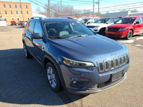 2021 Jeep Cherokee for sale at LeMond's Chevrolet Chrysler in Fairfield IL