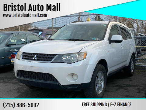 2008 Mitsubishi Outlander for sale at Bristol Auto Mall in Levittown PA