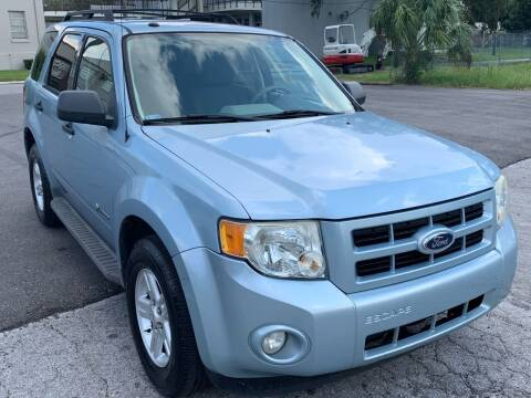 2009 Ford Escape Hybrid for sale at Consumer Auto Credit in Tampa FL