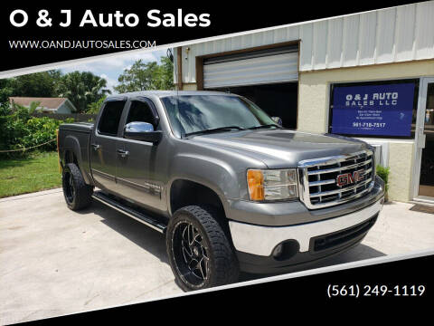 2007 GMC Sierra 1500 for sale at O & J Auto Sales in Royal Palm Beach FL