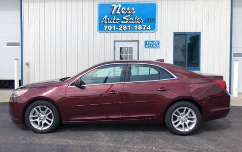 2015 Chevrolet Malibu for sale at NESS AUTO SALES in West Fargo ND