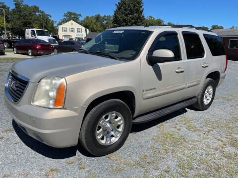 2007 GMC Yukon for sale at LAURINBURG AUTO SALES in Laurinburg NC