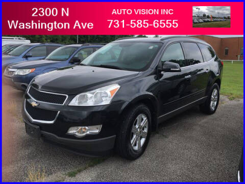 2012 Chevrolet Traverse for sale at Auto Vision Inc. in Brownsville TN
