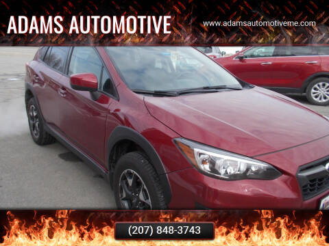 2018 Subaru Crosstrek for sale at Adams Automotive in Hermon ME