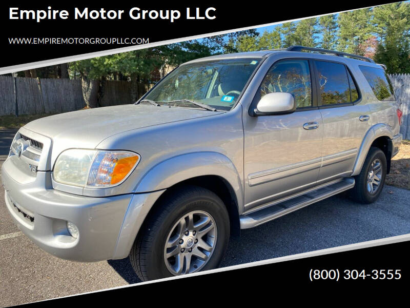 2006 Toyota Sequoia for sale at Empire Motor Group LLC in Plaistow NH