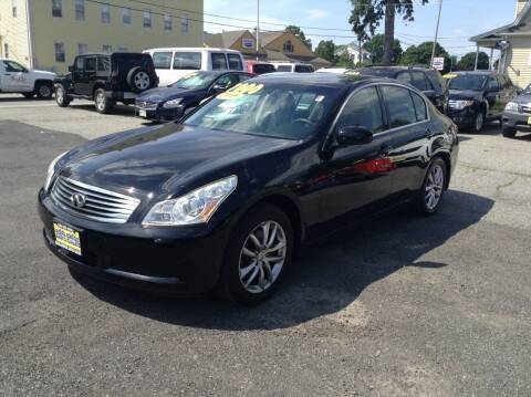 2008 Infiniti G35 for sale at Worldwide Auto Sales in Fall River MA