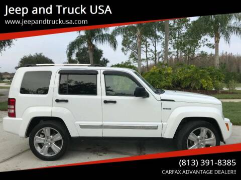 2012 Jeep Liberty for sale at Jeep and Truck USA in Tampa FL