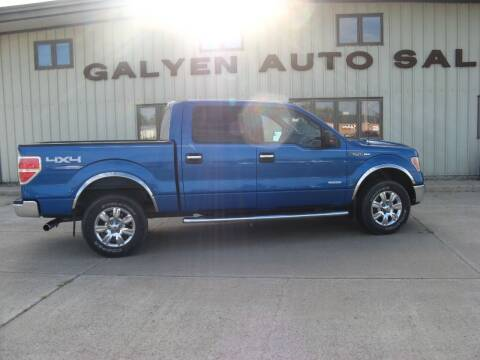 2012 Ford F-150 for sale at Galyen Auto Sales Inc. in Atkinson NE