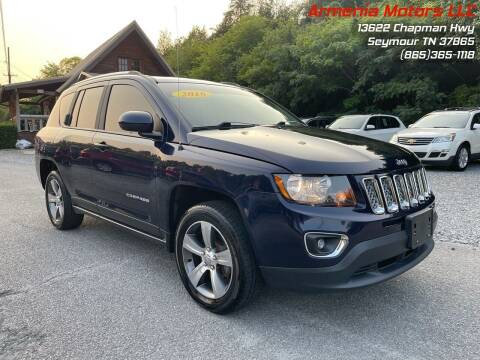 2016 Jeep Compass for sale at Armenia Motors in Seymour TN
