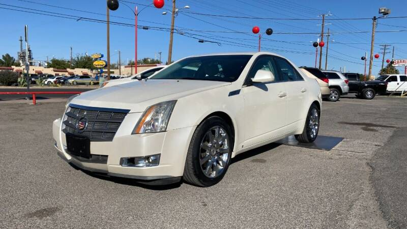 2008 Cadillac CTS for sale at BARRIO MOTORS in El Paso TX