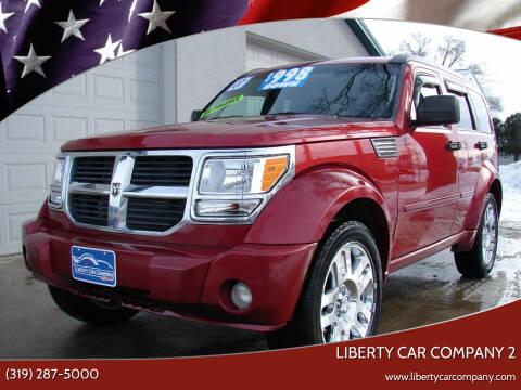 2007 Dodge Nitro for sale at Liberty Car Company - II in Waterloo IA