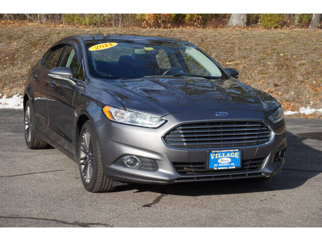 2014 Ford Fusion for sale at VILLAGE MOTORS in South Berwick ME