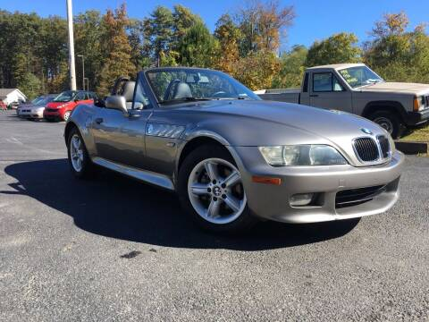 2001 BMW Z3 for sale at Deals On Wheels LLC in Saylorsburg PA
