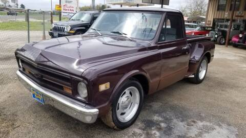 1967 Chevrolet C/K 10 Series for sale at COLLECTABLE-CARS LLC in Nacogdoches TX