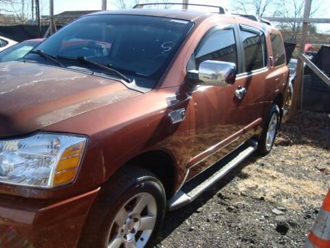 2004 Nissan Armada for sale at Branch Avenue Auto Auction in Clinton MD