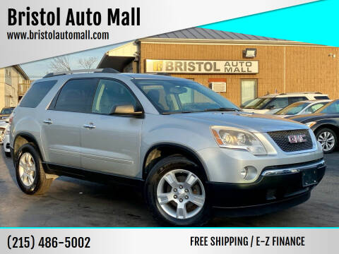 2012 GMC Acadia for sale at Bristol Auto Mall in Levittown PA
