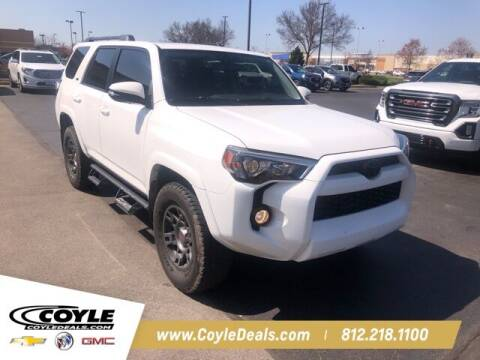 2018 Toyota 4Runner for sale at COYLE GM - COYLE NISSAN - New Inventory in Clarksville IN