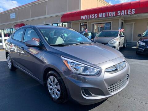 2016 Hyundai Accent for sale at Payless Motor Sales LLC in Burlington NC