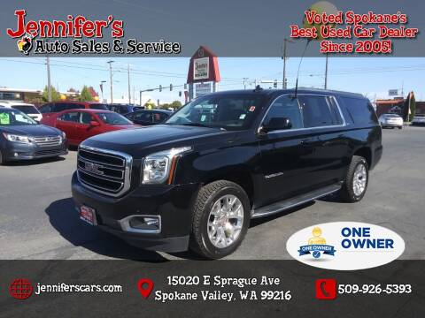 2018 GMC Yukon XL for sale at Jennifer's Auto Sales in Spokane Valley WA