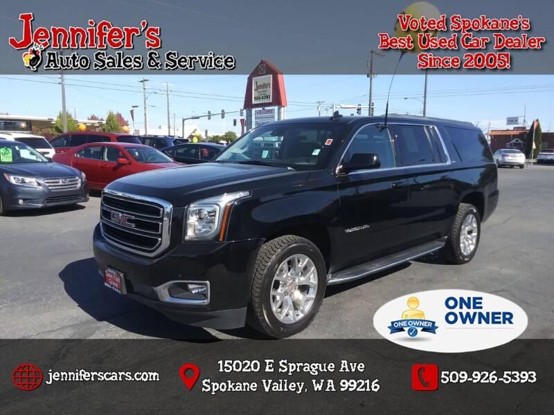 2018 GMC Yukon XL for sale at Jennifer's Auto Sales in Spokane Valley WA