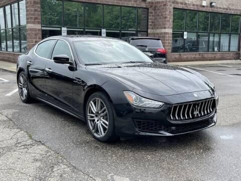 2018 Maserati Ghibli for sale at SOUTHFIELD QUALITY CARS in Detroit MI