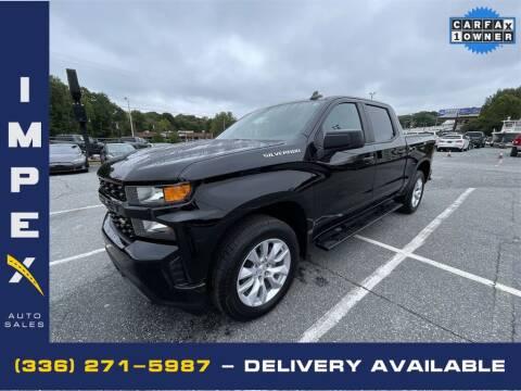 2021 Chevrolet Silverado 1500 for sale at Impex Auto Sales in Greensboro NC