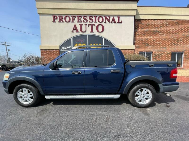 2007 Ford Explorer Sport Trac for sale at Professional Auto Sales & Service in Fort Wayne IN