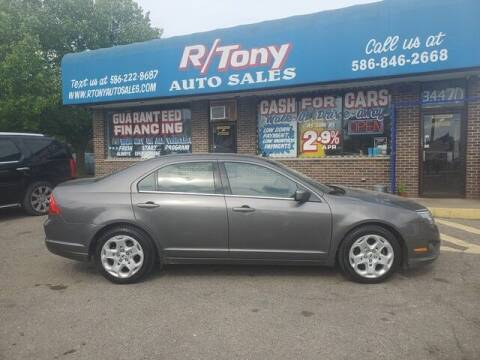 2011 Ford Fusion for sale at R Tony Auto Sales in Clinton Township MI
