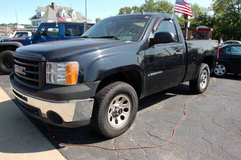 2009 GMC Sierra 1500 for sale at Park Ave Auto Inc. in Worcester MA