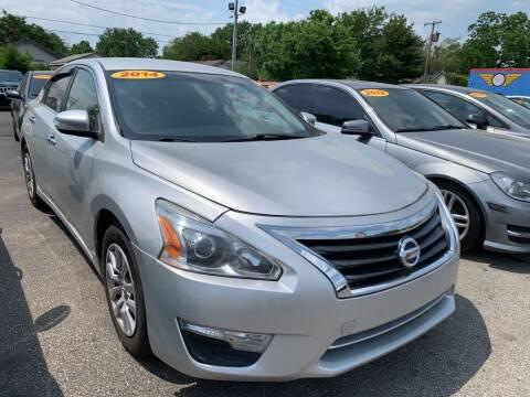 2014 Nissan Altima for sale at Eagle Motors in Hamilton OH