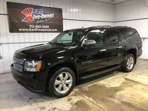 2010 Chevrolet Suburban for sale at Karl Pre-Owned in Glidden IA
