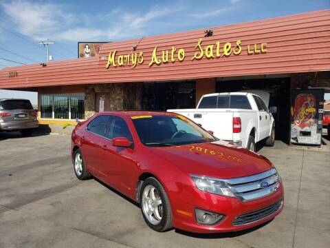 2011 Ford Fusion for sale at Marys Auto Sales in Phoenix AZ