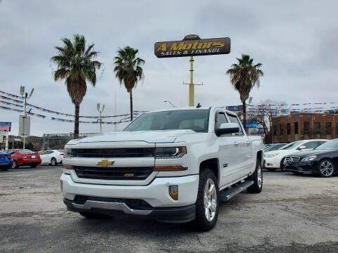 2016 Chevrolet Silverado 1500 for sale at A MOTORS SALES AND FINANCE - 10110 West Loop 1604 N in San Antonio TX