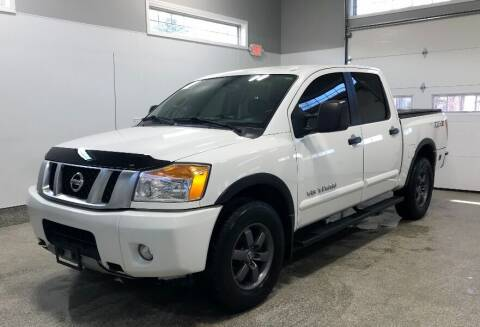 2015 Nissan Titan for sale at B Town Motors in Belchertown MA