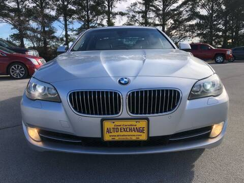 2011 BMW 5 Series for sale at East Carolina Auto Exchange in Greenville NC
