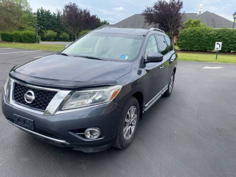2013 Nissan Pathfinder for sale at PREMIER AUTO SALES in Martinsburg WV