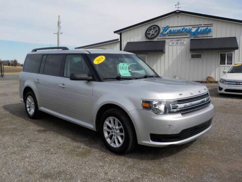 2014 Ford Flex for sale at Country Auto in Huntsville OH