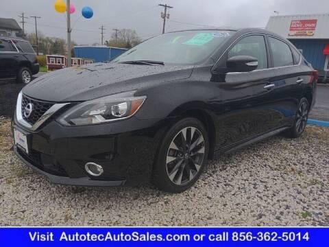 2018 Nissan Sentra for sale at Autotec Auto Sales in Vineland NJ