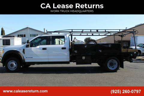2017 Ford F-550 Super Duty for sale at CA Lease Returns in Livermore CA