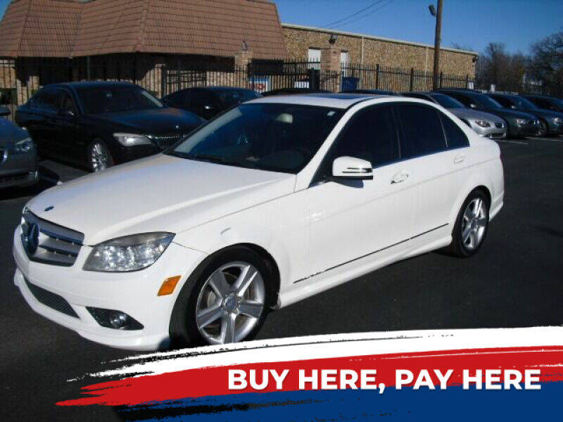 2010 Mercedes-Benz C-Class for sale at German Exclusive Inc in Dallas TX