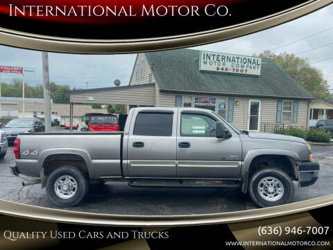 2006 Chevrolet Silverado 2500HD for sale at International Motor Co. in St. Charles MO