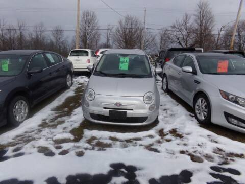 2012 FIAT 500 for sale at Pool Auto Sales Inc in Spencerport NY