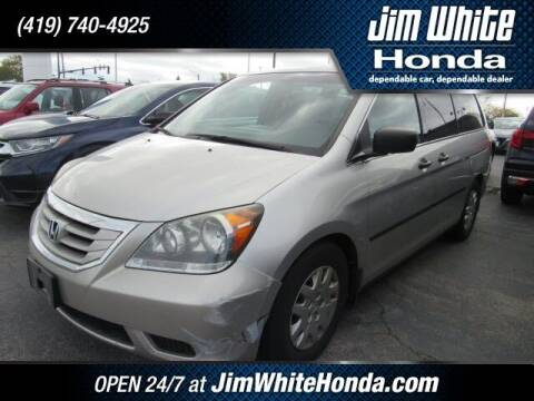 2008 Honda Odyssey for sale at The Credit Miracle Network Team at Jim White Honda in Maumee OH