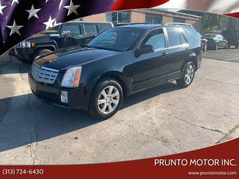 2006 Cadillac SRX for sale at Prunto Motor Inc. in Dearborn MI