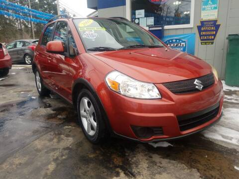 2009 Suzuki SX4 Crossover for sale at Bizzarro`s Fleetwing Auto Sales in Erie PA