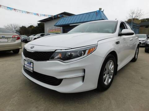 2016 Kia Optima for sale at AMD AUTO in San Antonio TX